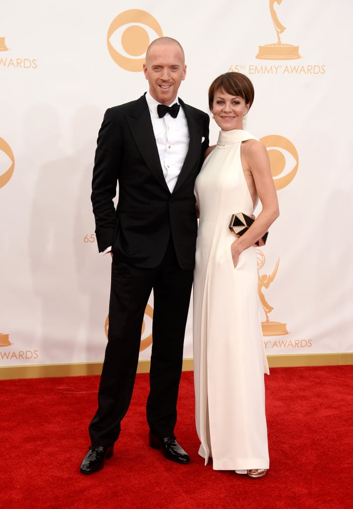 Damian Lewis and Helen McCrory walked the Emmys red carpet.