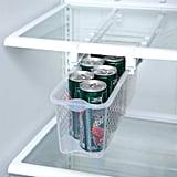 Smart Design Refrigerator Pull Out Bin & Home Organizer