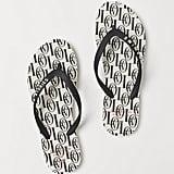 H&M Patterned Flip-Flops
