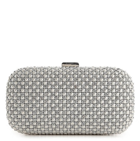 This Lulu Townsend clutch ($50) makes it easy to add a little shine to your look.