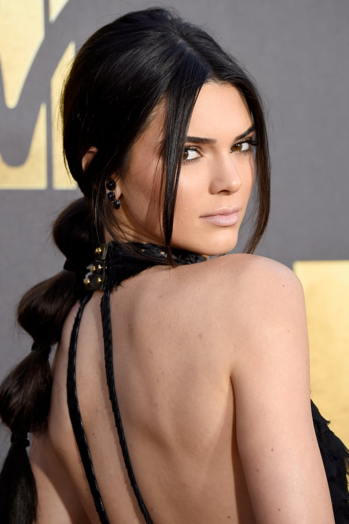 Kendall Jenner Hair MTV Movie Awards