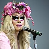Trixie Mattel spoke to an audience at DragCon.