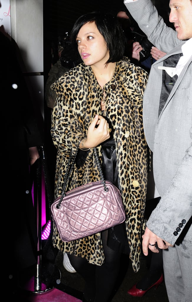 29/10/08 Lily Allen At Lipsy Party