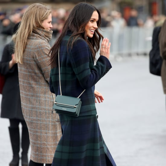Meghan Markle's Green Strathberry Crossbody Bag