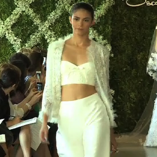 Oscar de la Renta Bridal Show 2013 Video