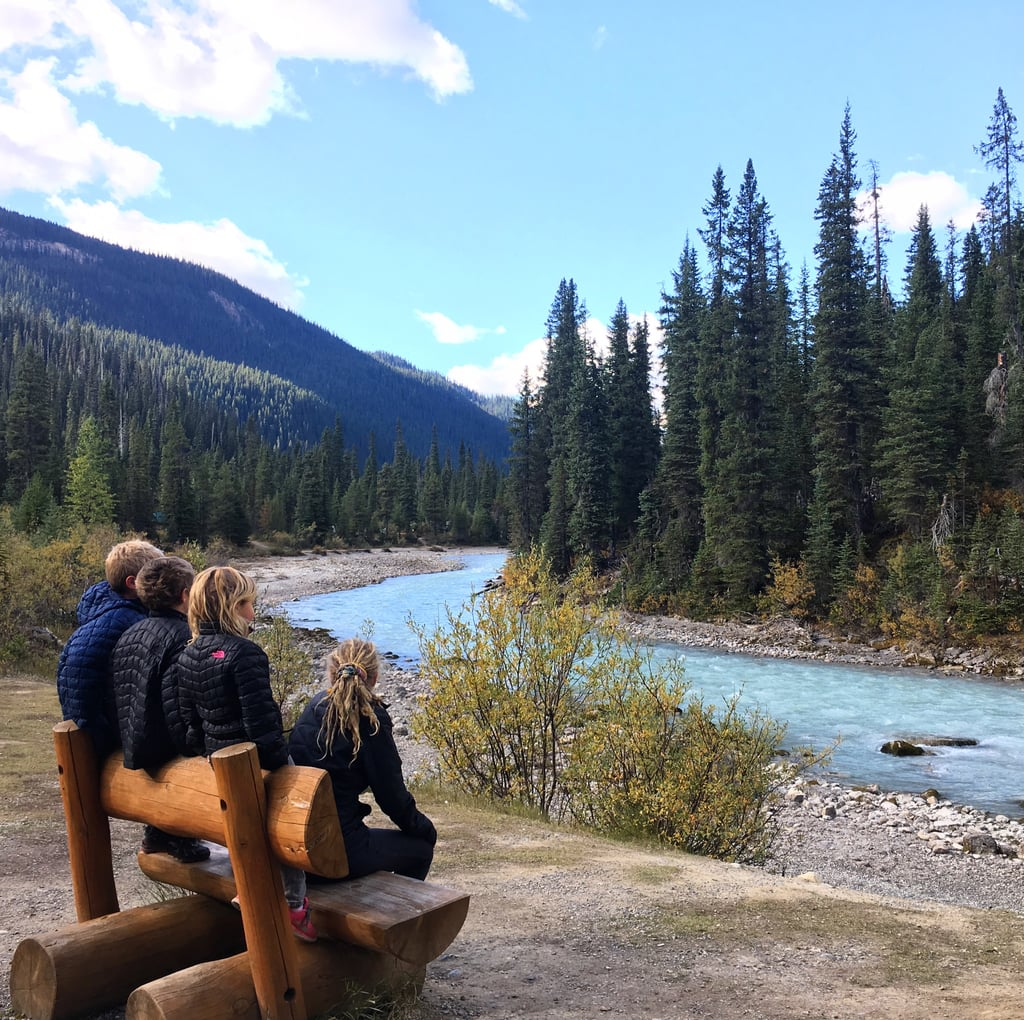 They Also Made It Over to Banff in Canada