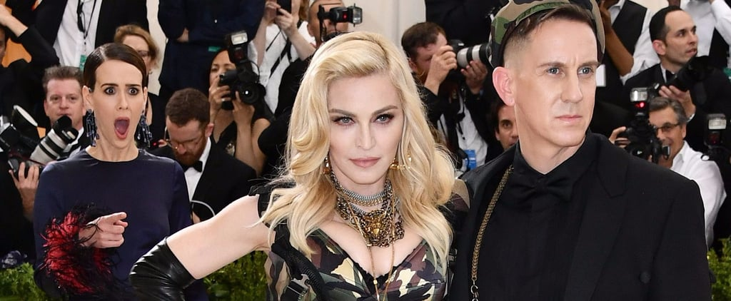 Sarah Paulson Freaks the F*ck Out After Spotting Madonna at the Met Gala