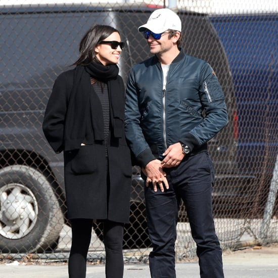 Bradley Cooper and Irina Shayk Hold Hands in NYC March 2016