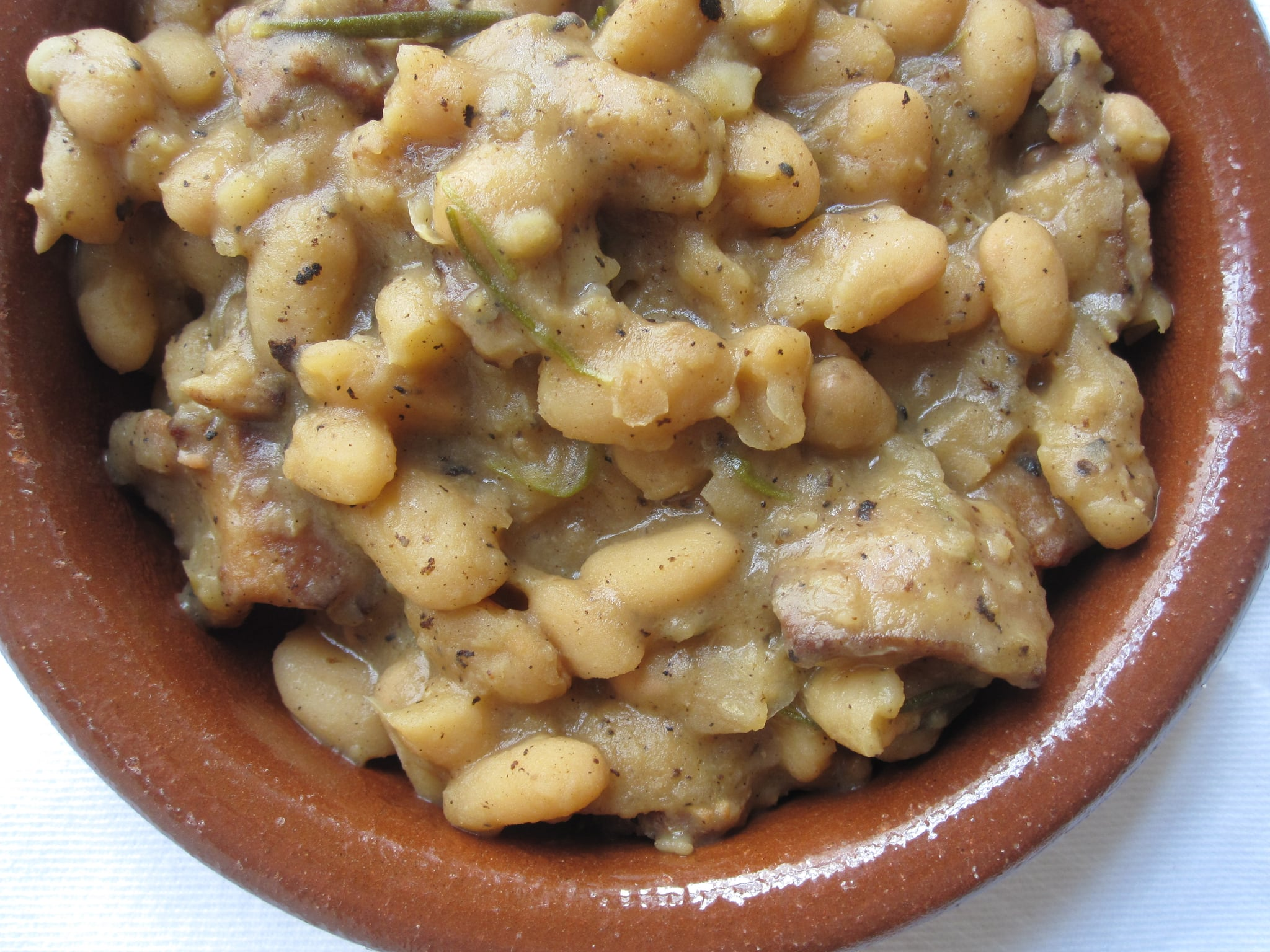 Beer Baked White Beans Weekend Cooking Baked Beans White Beans ...