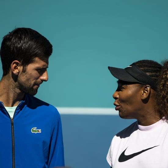 Serena Williams's 1,000th Match Video From Novak Djokovic