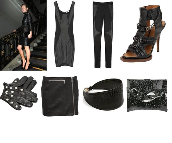 Shopping: Sleek Leather Looks