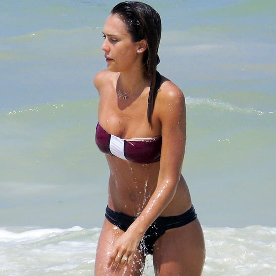 Jessica Alba in a Bikini in Mexico 2014 | Pictures