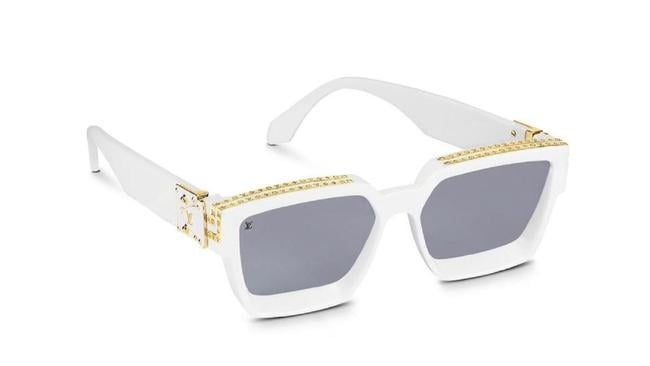 Louis Vuitton White 1.1 Millionaries Sunglasses