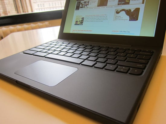 Pictures of the Google Chrome Notebook Cr-48