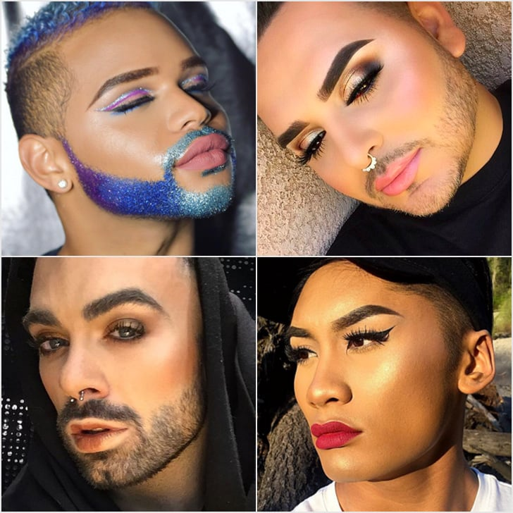 Boys in Makeup Hashtag on Instagram