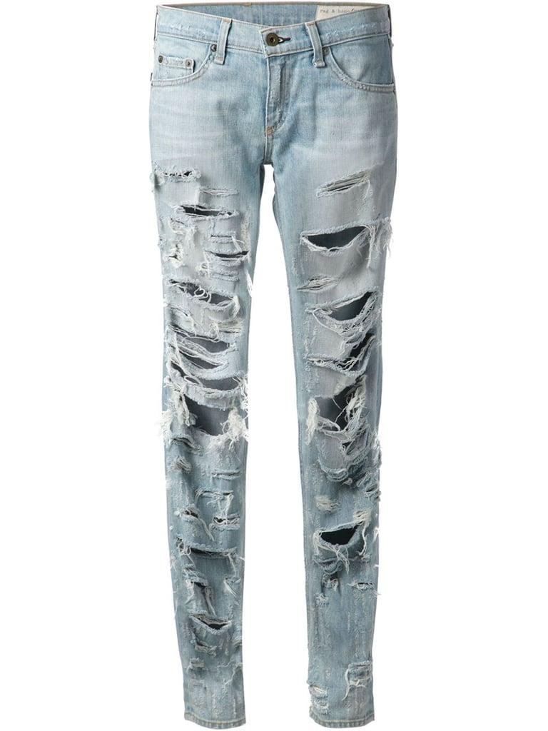 Rag & Bone Distresed Jeans ($387)