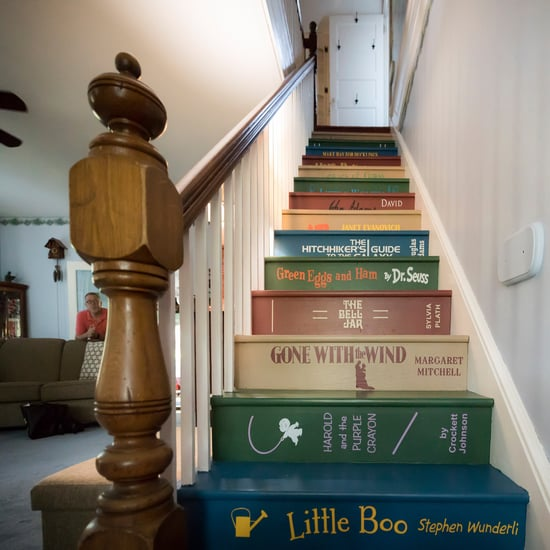 DIY Book Staircase