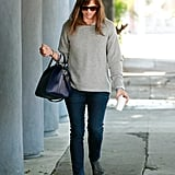 Jennifer Garner Has a Tiny Helper in Tow at the Grocery Store