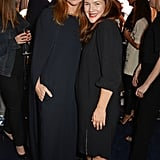 Stella McCartney and Drew Barrymore both wore black to the designer's Green Carpet Collection event on Sunday.
