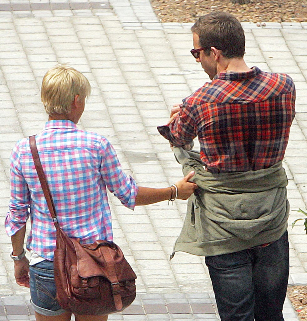Pics: Ryan Reynolds Spotted Getting Intimate With New Blonde — Her Hand Is on His Ass!