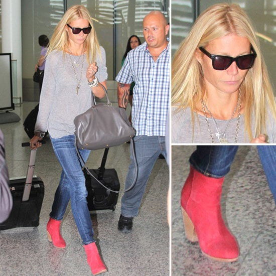 Gwyneth Paltrow's Red Boots