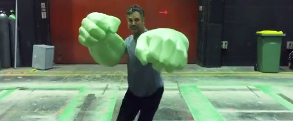 It's Totally OK to Watch This Video of Mark Ruffalo With His Hulk Hands on Repeat