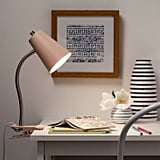 LED Clip Table Lamp With Cord