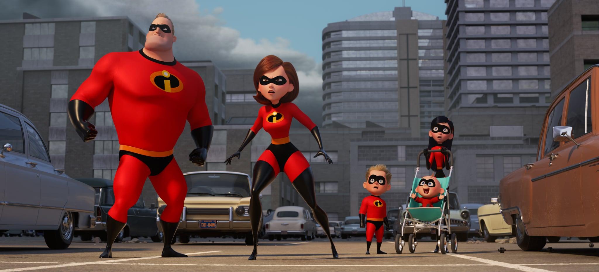 SUPER FAMILY -- In Disney Pixar's