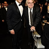 Bradley Cooper hung out with Philip Seymour Hoffman.