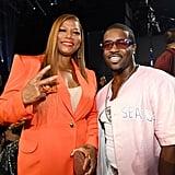 Queen Latifah and A$AP Ferg at the VMAs