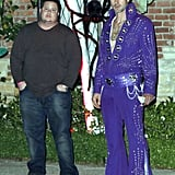 Chaz Bono and David Arquette at Kate Hudson's Halloween party.