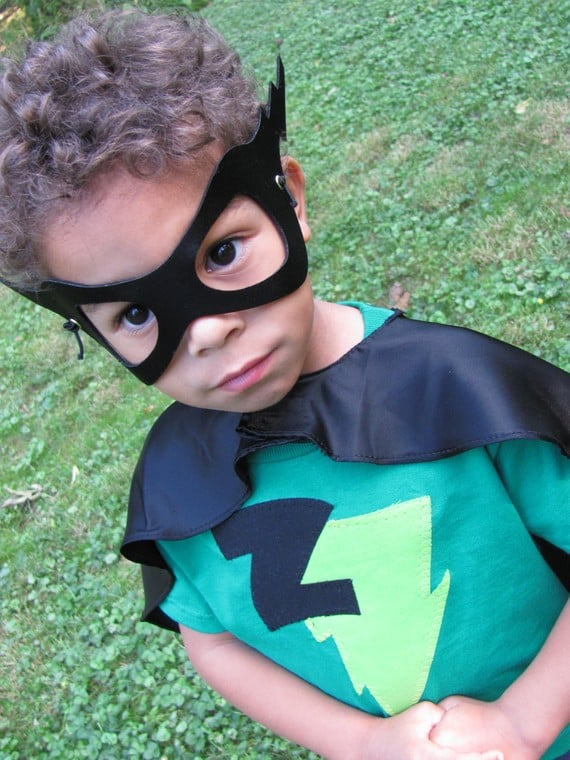 Handmade Superhero Halloween Costume