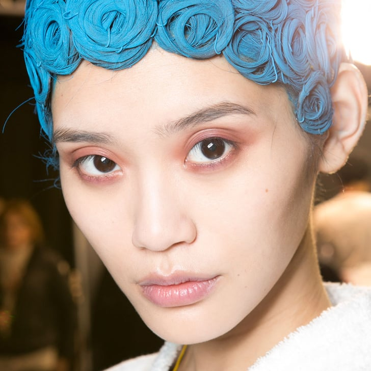 Givenchy Creates Colorful Helmet Hair in Paris