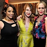 Pictured: Sarah Paulson, Lily Rabe, and Laverne Cox