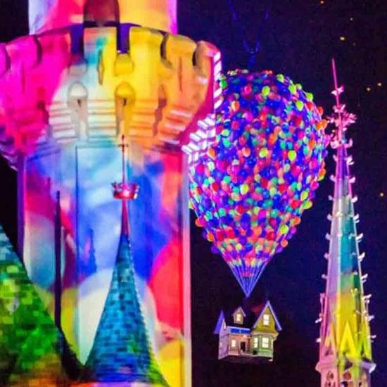 Pixar Fireworks Show at Disneyland
