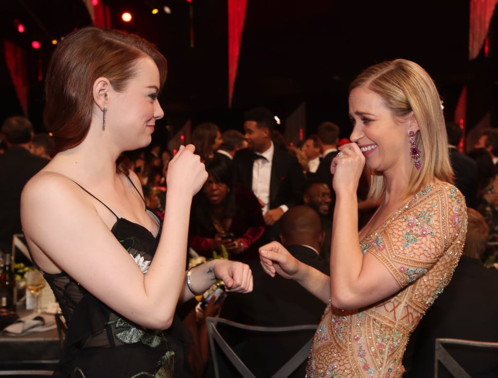 Pictured: Emily Blunt, Emma Stone