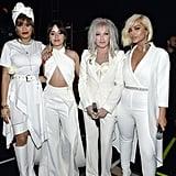 Pictured: Andra Day, Camila Cabello, Cyndi Lauper, and Bebe Rexha