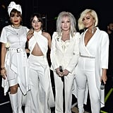 Pictured: Andra Day, Camila Cabello, Cyndi Lauper, and Bebe Rexha