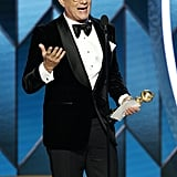 Tom Hanks at the 2020 Golden Globes