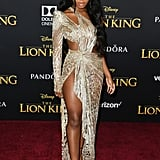 Normani Attends the Premiere of Disney's The Lion King