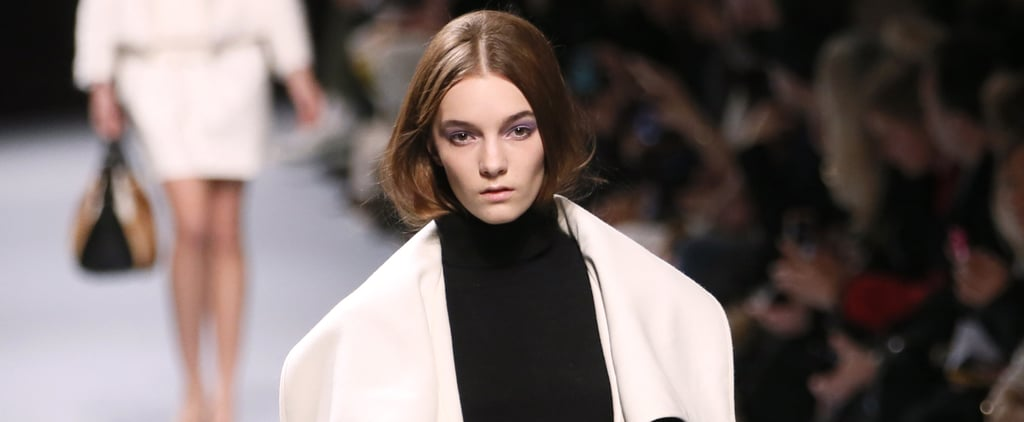 Nina Ricci Has Us Seriously Considering the Tucked-In Hair Trend