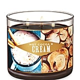 Hot Cocoa & Cream Three-Wick Candle