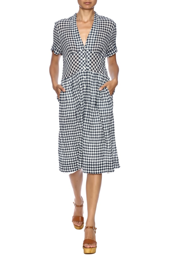 Sea Gingham Dress ($425)