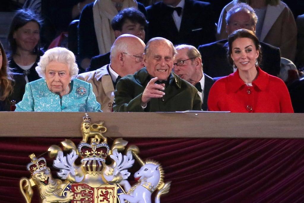 Queen Elizabeth II 90th Birthday at Windsor Castle May 2016