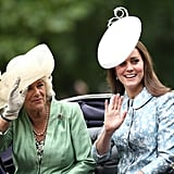 The Duchess of Cambridge Makes Her First Official Appearance Since Giving Birth!