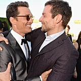 Bradley and Matthew Had an Amazing Critics' Choice Awards Embrace