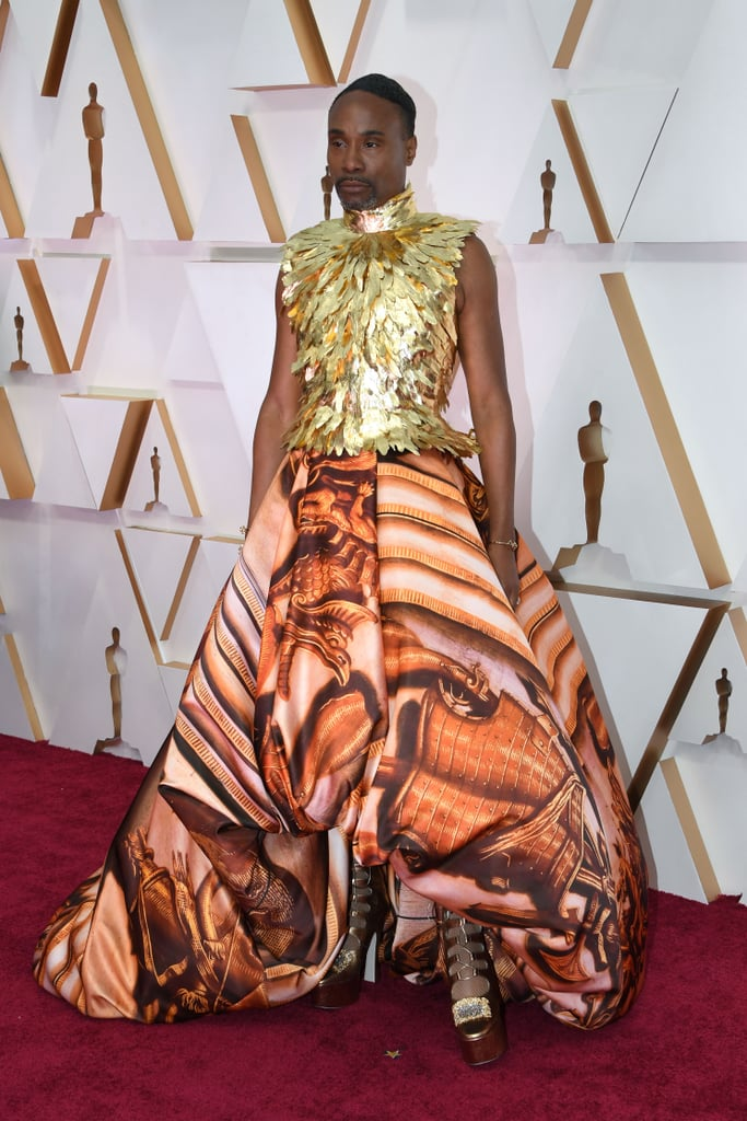 Billy Porter on the 2020 Oscars Red Carpet