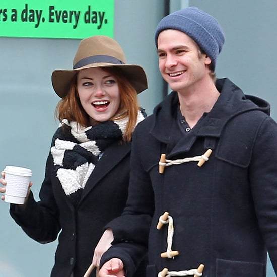Emma Stone and Andrew Garfield Kissing Pictures