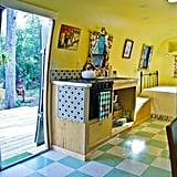 The vintage decor and endless amenities make the little house look and feel like home.