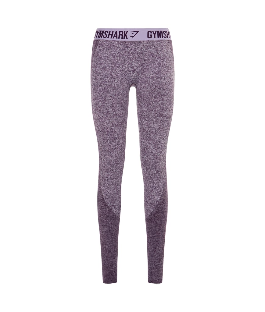 e920fb8b1d272 Gymshark Flex Leggings in Purple Wash Marl/Pastel Lilac ($38 ...